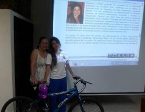 Premio entregado en el Cesar Consurso de Literatura 2014