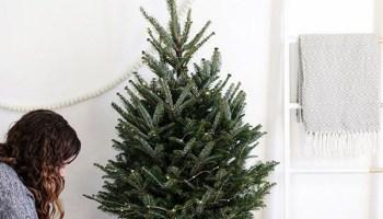 Árbol de navidad pequeño para salones pequeños