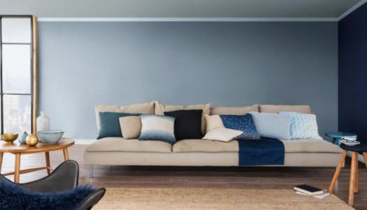 Color Gris Denim tendencia para paredes