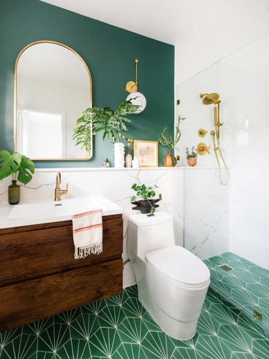Colores para un baño Feng Shui: Verde