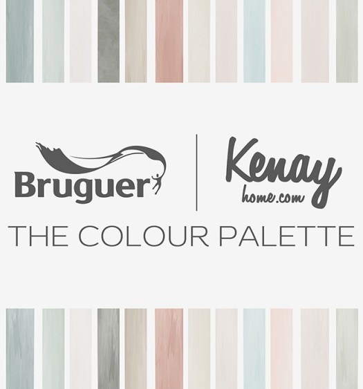 The Colour Palette, la carta de pinturas y colores de Kenay Home y Bruguer