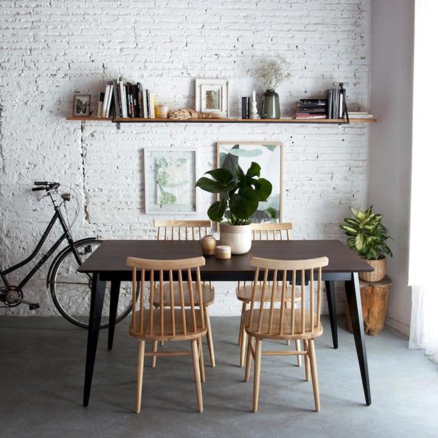 Evden çıkmadan ücretsiz dekore edilmiş yemek masası