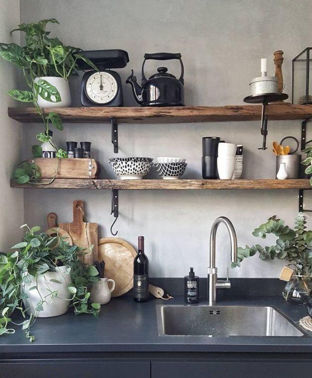Küçük bir mutfak düzenlemek için fikirler