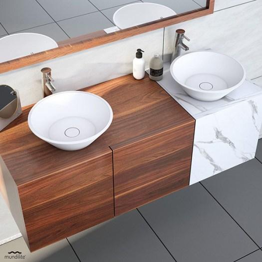 Lavabo de diseño moderno AruPlus