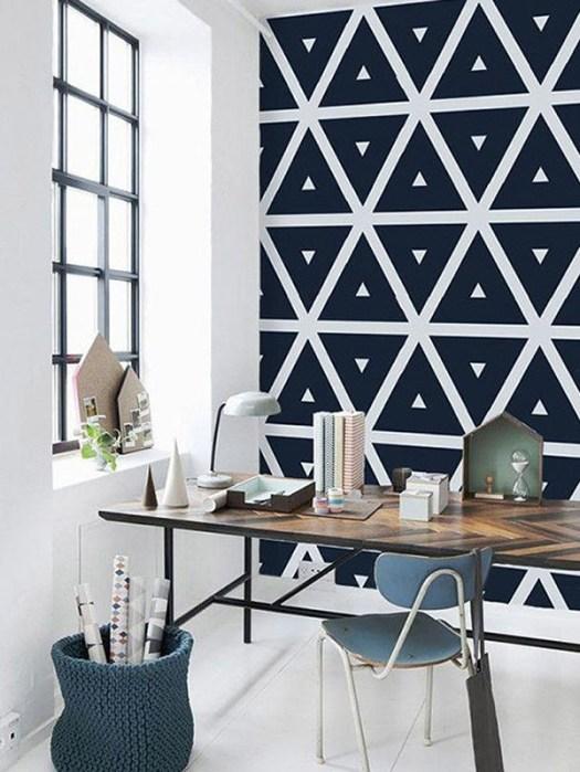 Pintar patrones en la pared