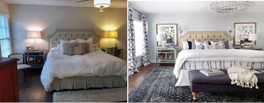 Renovación de un dormitorio sin obras ni muebles