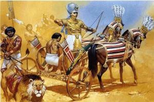 Египетская боевая колесница