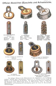 Epauletten und Schulterstücke der Offiziere (wikipedia.de)