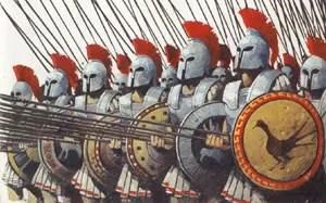 Griechische Phalanx