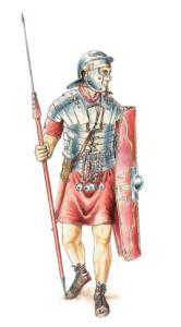 罗马军团士兵