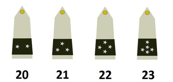 Generäle der französischen Armee (Officiers généraux)