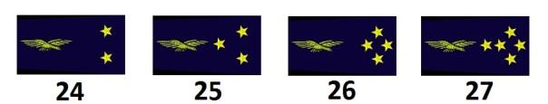 Generalstab der französischen Luftwaffe (Officiers généraux)