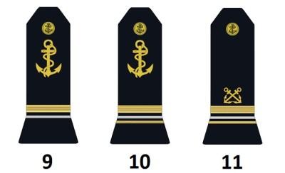 Höhere Unteroffiziere der französischen Marine (Officiers mariniers supérieurs)