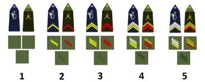 Classifica di squadra dell'esercito francese
