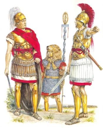 Römische Offiziere