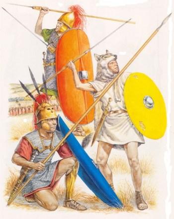 Römische Speerkämpfer