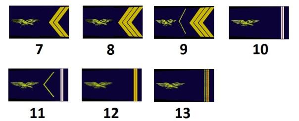 Unteroffiziere der französischen Luftwaffe (Sous-officiers)