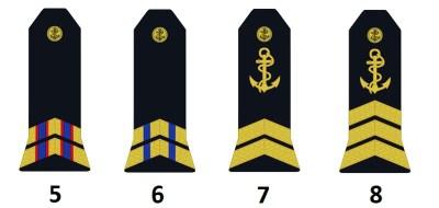 Unteroffiziere der französischen Marine (Officiers mariniers subalternes)