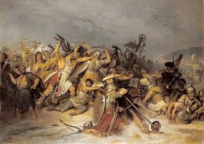 Varusschlacht (Schlacht am Teutoburger Wald)