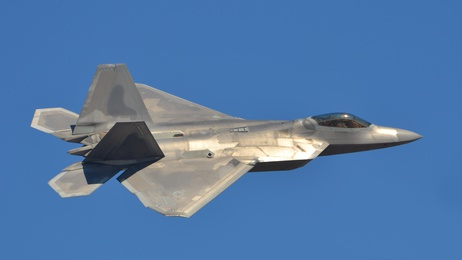F-22 Raptor Tarnkappen Kampfjet