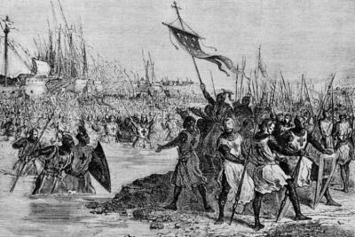 Re Ludwig IX e la settima crociata