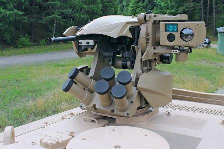 MBT Revolution 12,7-Millimeter-Bordmaschinengewehr