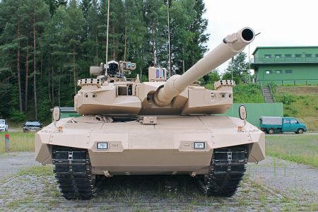 MBT Revolution 120mm Kanone