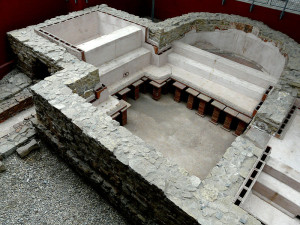 The small military bath in the fort Osterburken