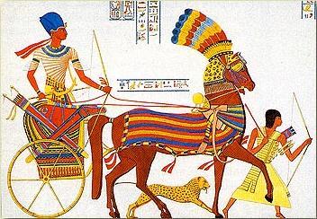 Chariot égyptien