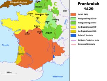 Франция с 1429 по 1453