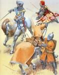 الجنود الفرنسيون في حرب المائة عام
