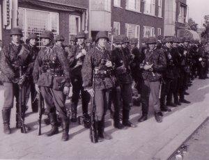 المشاة لشعبة بانزيرجرينادير SS