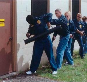 Ariete moderno per la polizia