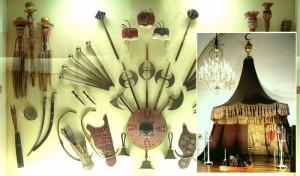 Турецкое оружие, выставленное в Военно-историческом музее Вены
