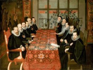 Signature du traité de paix 1604