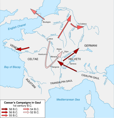 Cäsars Feldzüge während des gallischen Krieges