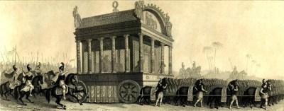 亚历山大的葬礼游行(19世纪的重建尝试)