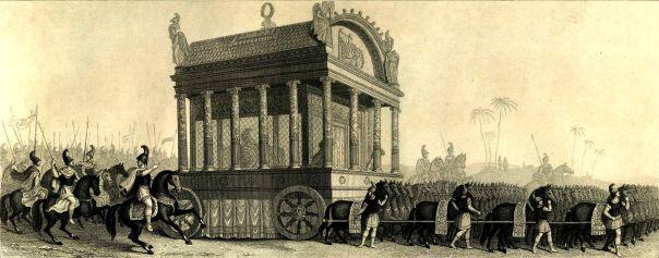 Der Leichenzug Alexanders (Rekonstruktionsversuch des 19. Jahrhunderts)