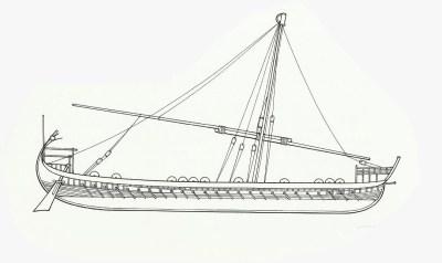 Dromone vom 9. bis 12. Jahrhundert