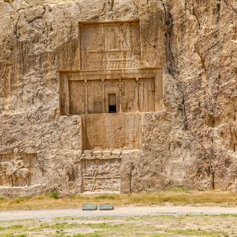 Tomba rupestre del Grande Re Xerxes a Naqsch-e Rostam