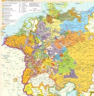 三十年战争的地图