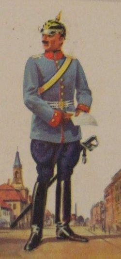 Dragoner Regiment Albrecht von Preußen Nr. 1 (Rittmeister im Dienstanzug)