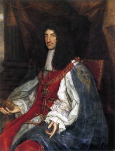 Le roi Charles II d'Angleterre
