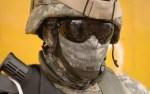 Uniform mit digitalem Tarnmuster