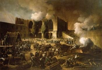 由惠灵顿公爵领导的英国 - 葡萄牙军队围攻布尔戈斯,1812年