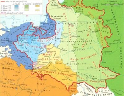 Деление Польши в 18-ом веке