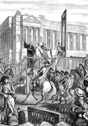 König Ludwig XVI. Exekution