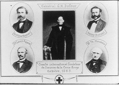 Les cinq membres fondateurs