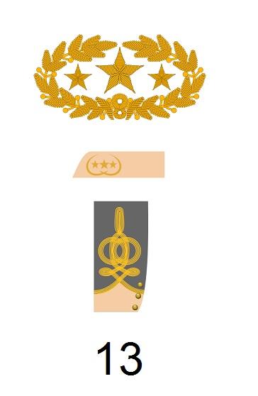 Generaldienstgrad der Konföderation