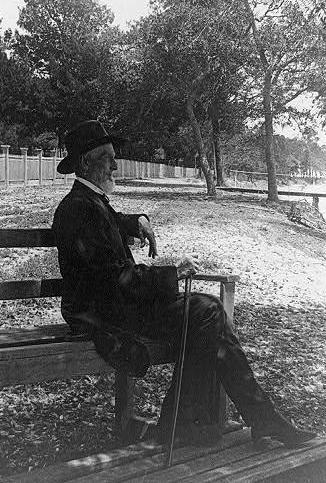 Jefferson Davis um 1885